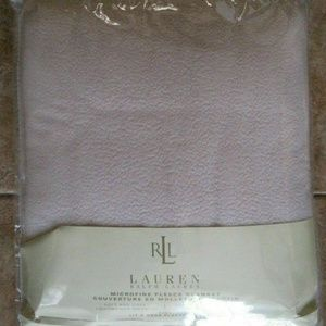 Lauren Ralph Lauren Microfine Fleece Blanket King